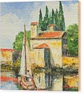 Italy - San Vigilio Wood Print