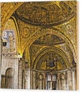 Italy - St Marks Basiclica Venice Wood Print