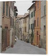 Italy Streets Wood Print