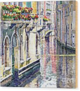 Italy Venice Midday Wood Print