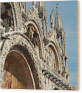 Italy, Venice Saint Mark's Basilica Wood Print
