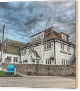 Itchenor Harbour Office Hdr Wood Print