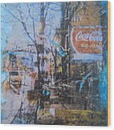 Its The Real Thing On James Street Wood Print