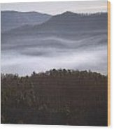 It's The Smokies Folks Wood Print by Skip Willits