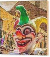 I've Never Liked Clowns Wood Print