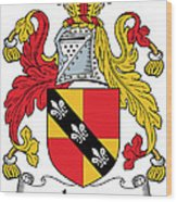 Ivers Coat Of Arms II Irish Wood Print