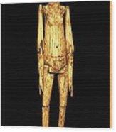 Ivory Doll 1st C.. Roman Art. Early Wood Print