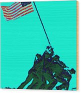 Iwo Jima 20130210m128 Wood Print by Wingsdomain Art and Photography