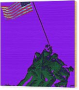 Iwo Jima 20130210m28 Wood Print by Wingsdomain Art and Photography