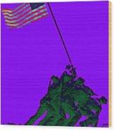 Iwo Jima 20130210m28 Wood Print by Wingsdomain Art and Photography
