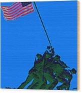 Iwo Jima 20130210m88 Wood Print by Wingsdomain Art and Photography