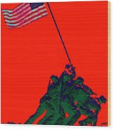 Iwo Jima 20130210p65 Wood Print by Wingsdomain Art and Photography