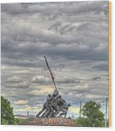 Iwo Jima Memorial - Washington Dc - 01131 Wood Print