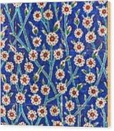 Iznik Tiles In Harem Topkapi Palace Istanbul Wood Print