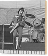 J. Geils At Day On The Green 1976 Wood Print