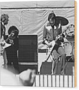 Day On The Green 6-6-76 Wood Print