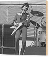J. Geils In Oakland 1976 Wood Print