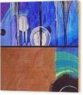 j HOT 12 Wood Print