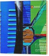 j HOT 35 Wood Print