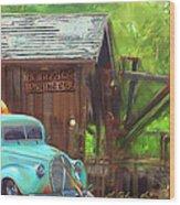 J. R. Hewlet Mining Co. Wood Print