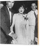Jack Dempsey & Estelle Taylor Wood Print
