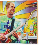 Jack Johnson Wood Print