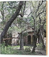 Jack London House Of Happy Walls 5d21961 Wood Print by Wingsdomain Art and Photography