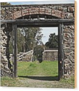 Jack London Ranch Winery Ruins 5d22128 Wood Print
