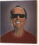 Jack Nicholson 2 Wood Print