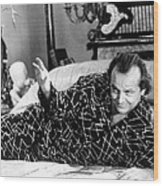 Jack Nicholson In The Witches Of Eastwick  Wood Print by Silver Screen