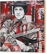 Jack White Wood Print