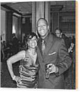 Jackie And James Party 75 Wood Print