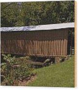 Jack's Creek Bridge Wood Print