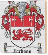 Jackson Coat Of Arms Derby  Wood Print
