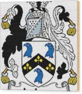 Jackson Coat Of Arms Mayo Ireland Wood Print