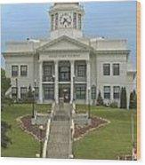 Jackson County Courthouse Wood Print