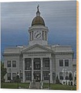 Jackson County Courthouse North Carolina Wood Print