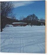 Jackson Covered Bridge II Wood Print