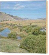 Jackson Hole Wyoming Wood Print