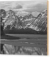 Jackson Lake Grand Teton National Park Wood Print