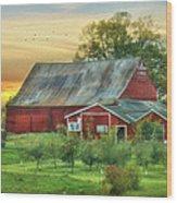 Jackson Orchard Wood Print