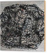 Jackson Pollock Paint By Number Wood Print
