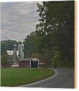 Jackson's Sawmill Covered Bridge Wood Print