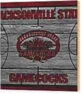 Jacksonville State Gamecocks Wood Print