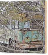 Jacob's Bus Wood Print