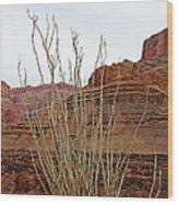 Jacob's Staff Grand Canyon Wood Print