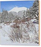Jacque Peak Wood Print