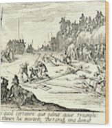 Jacques Callot French, 1592 - 1635. The Crucifixion Le Wood Print