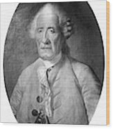 Jacques De Vaucanson (1709-1782) Wood Print