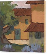 Jacques Farm In Provence Wood Print